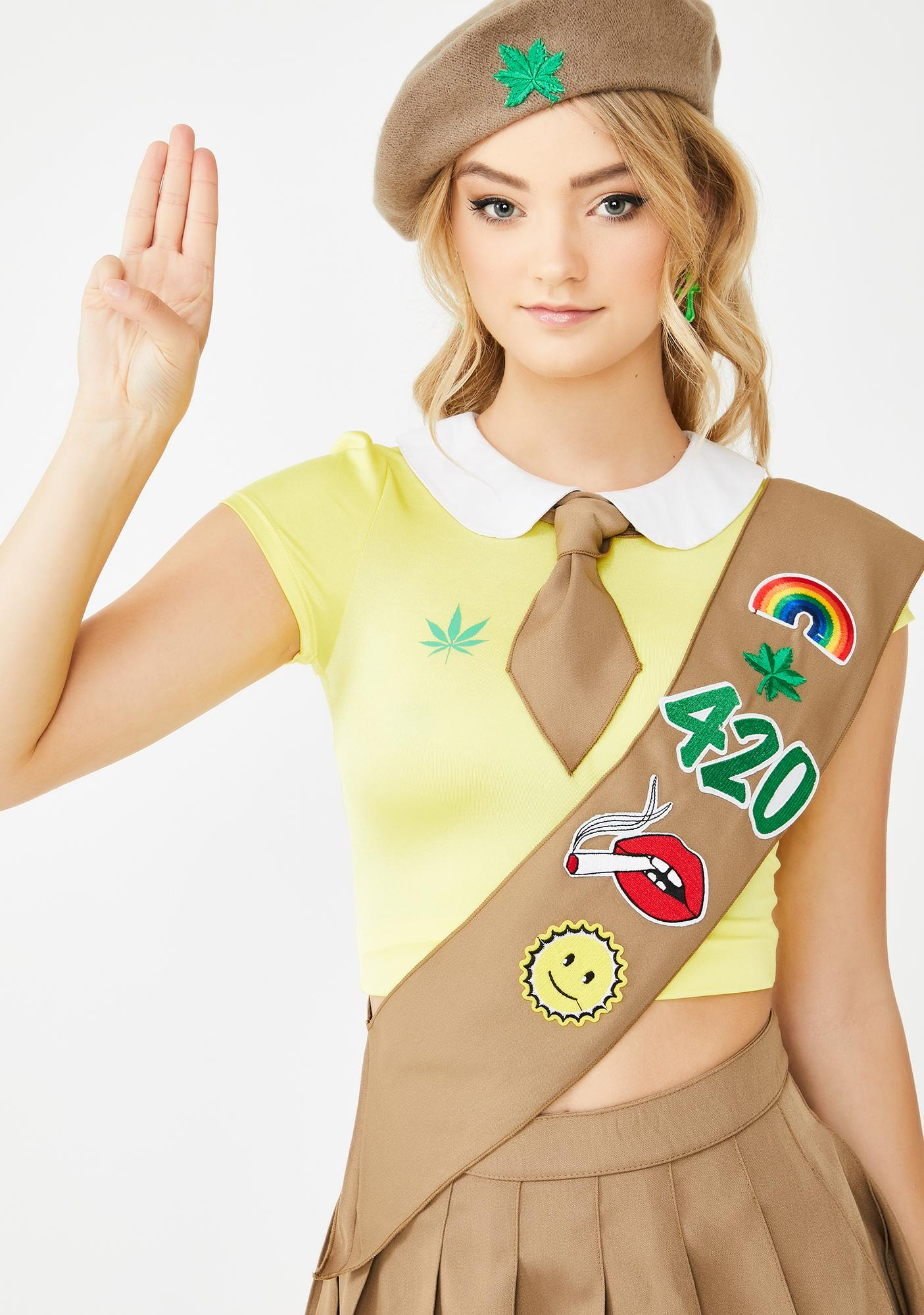 girl sash costume adult scout