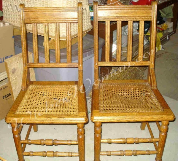 bottoms canning chair