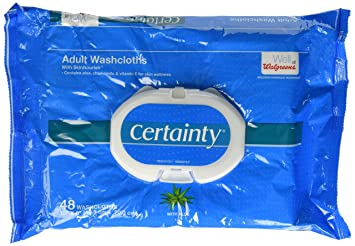 for disposable washcloths adults
