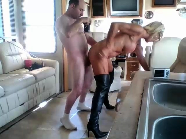 anal mature boots