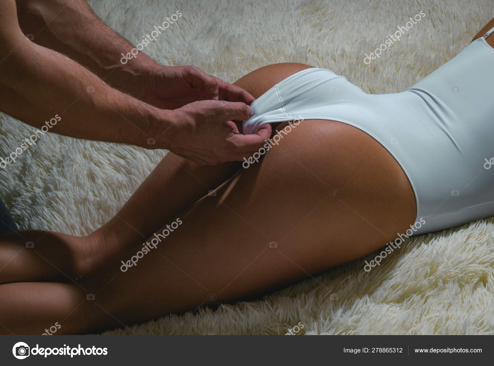 ass erotic massage