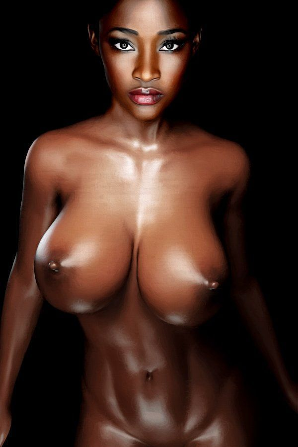 nude black super models