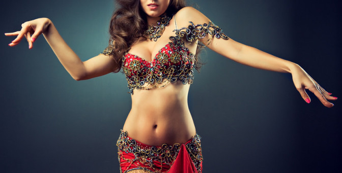 belly dance strip