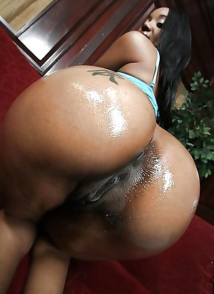 black ass and black pussy