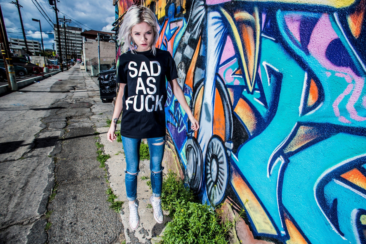 as sad shirt fuck
