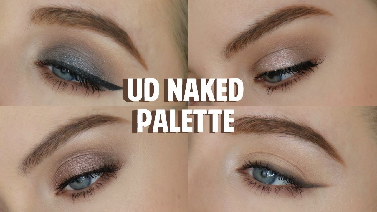 naked looks decay urban palette
