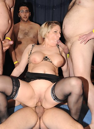 mature moms who gangbang