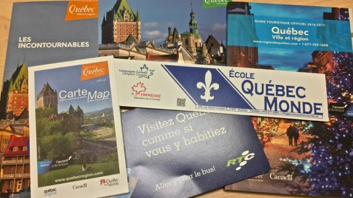 immersion french quebec adult