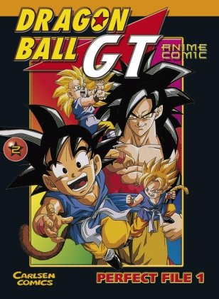 comics ball dragon gt