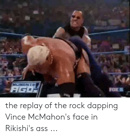 mcmahon wipes ass