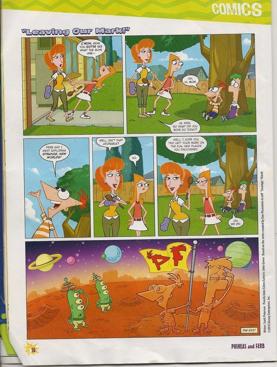 phineas isabella comix porn ferb and
