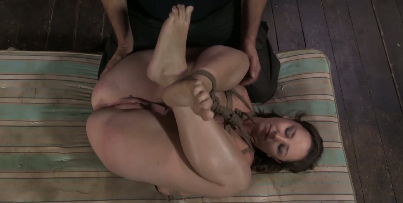 sultry brunette anal