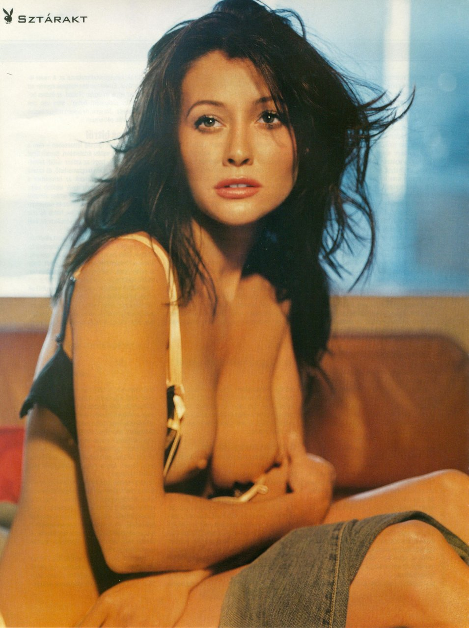 naked shannen doherty