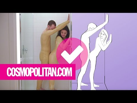 moves sexy shower