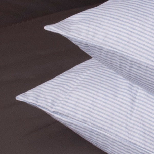 stripe feather granny pillows