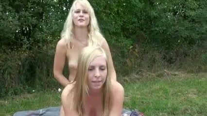 strap lesbian outdoor