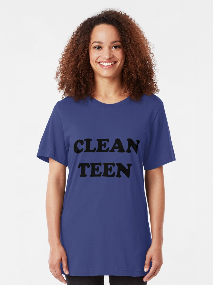 clean teen tshirt