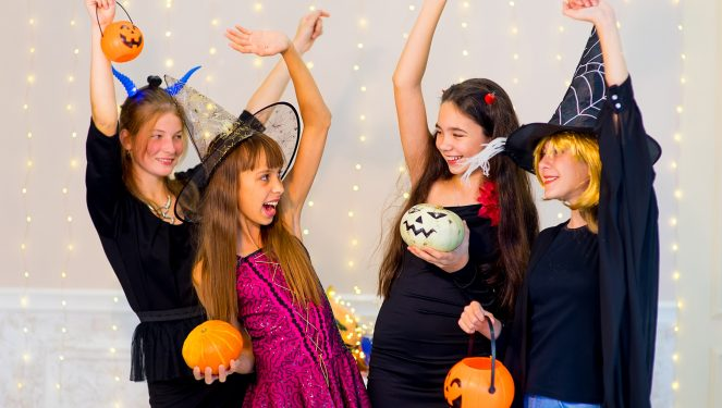 halloween to teens party