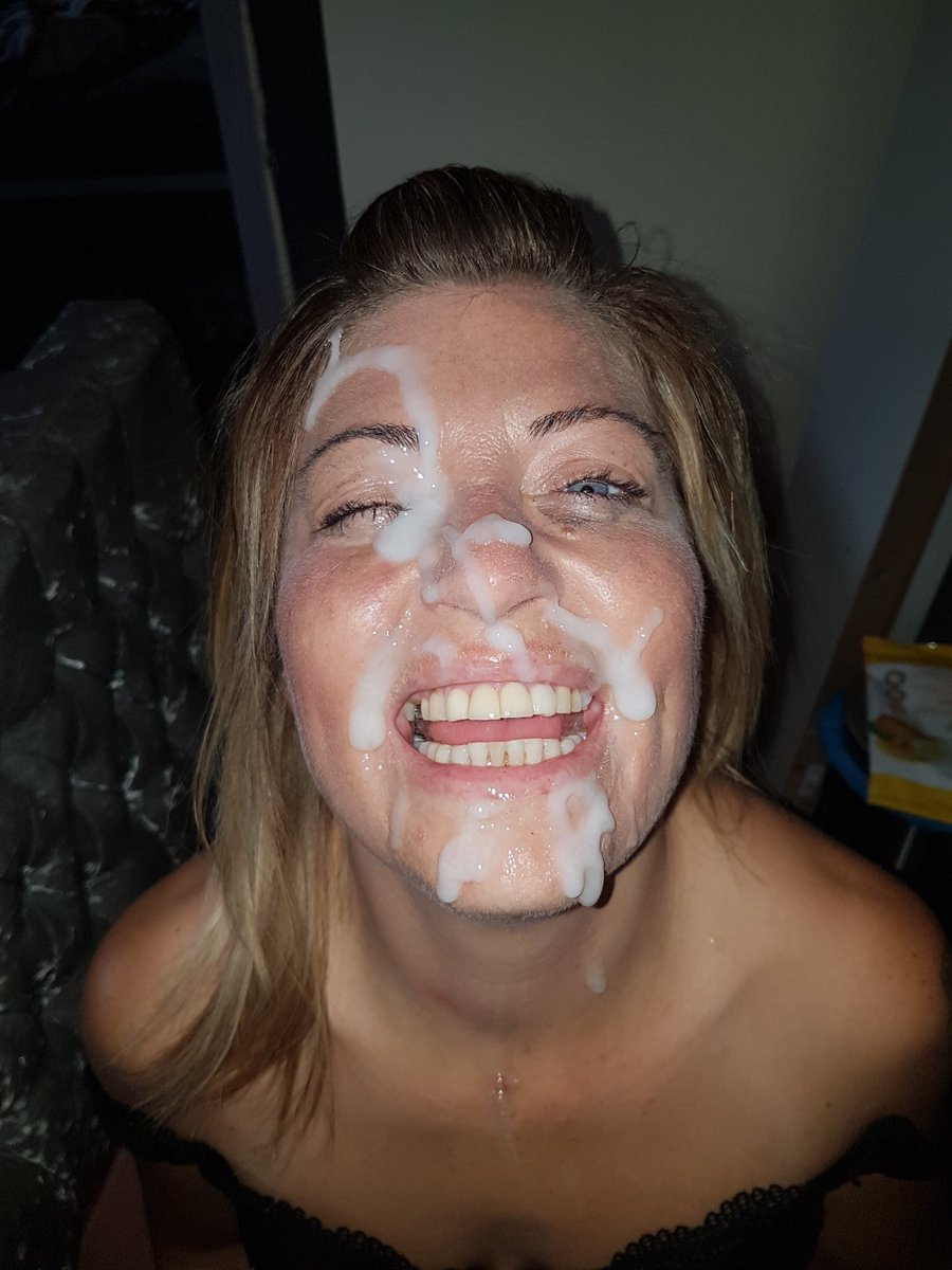 cumshot facial with mom