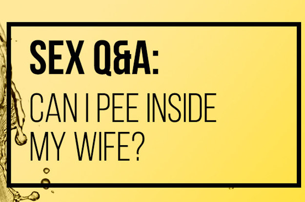 to during sex pee how