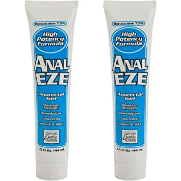 ass benzocaine the cream in