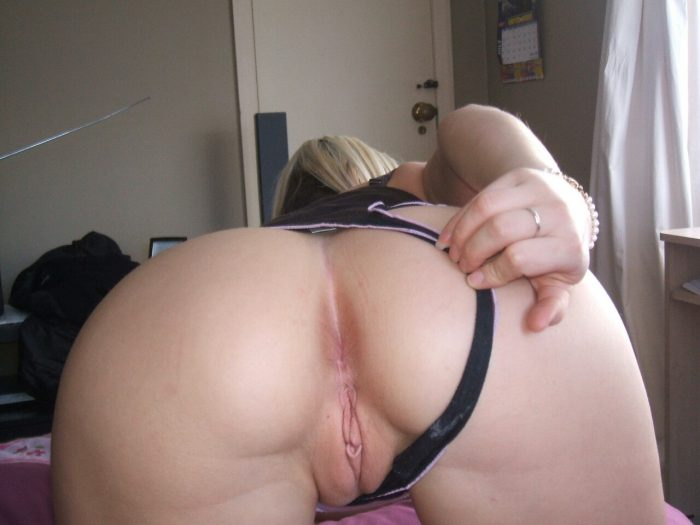 behind pussy wifes from
