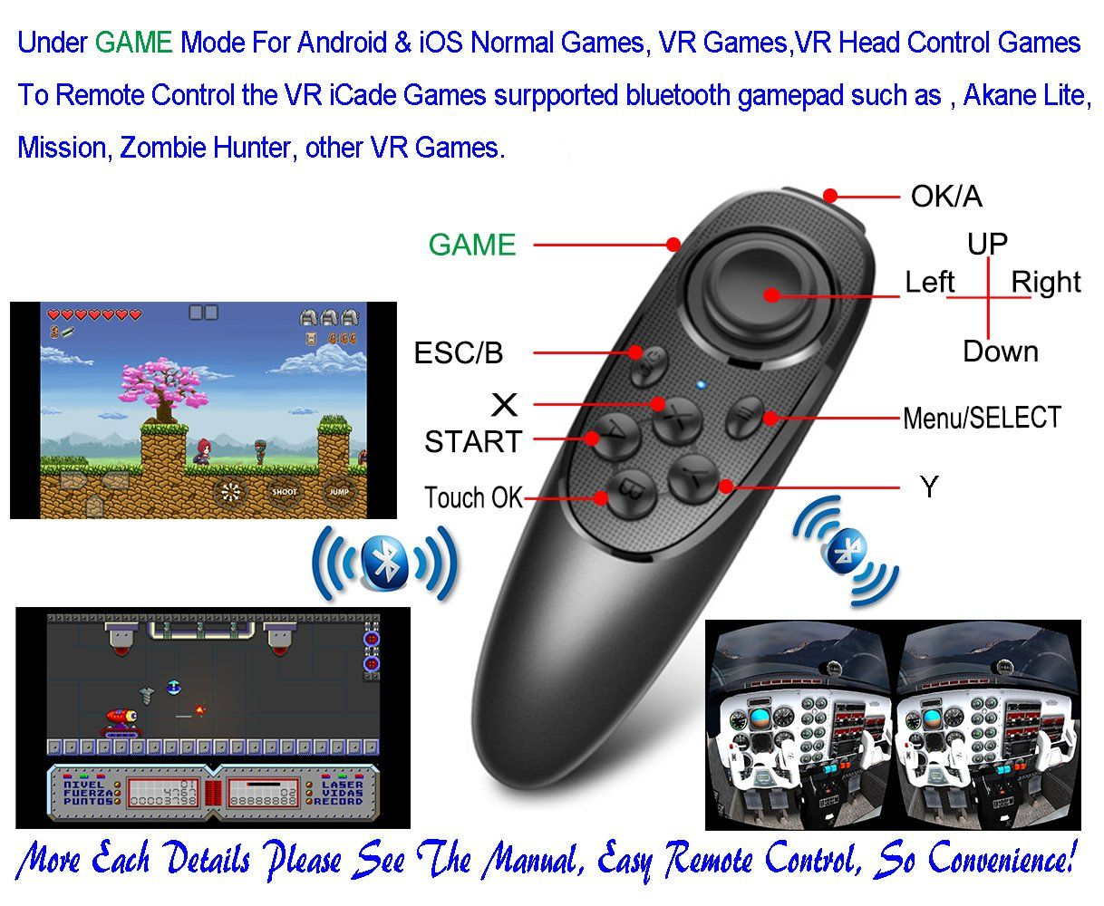 vr controller bluetooth iphone