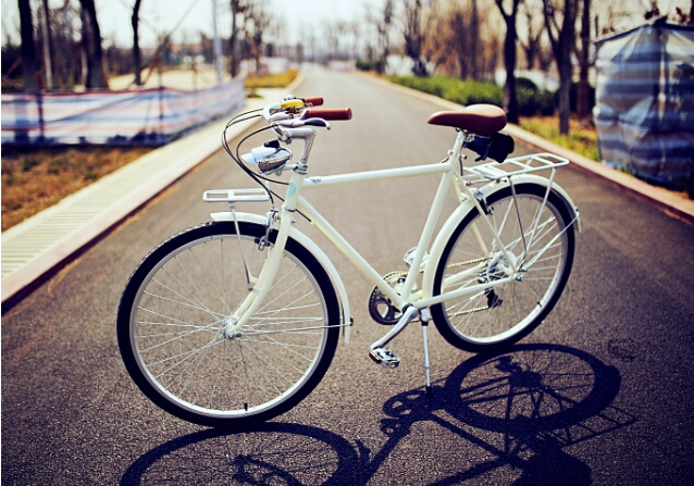 style light bicycle vintage