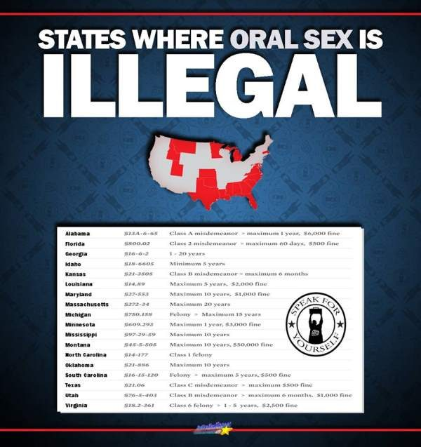 laws by sex state oral