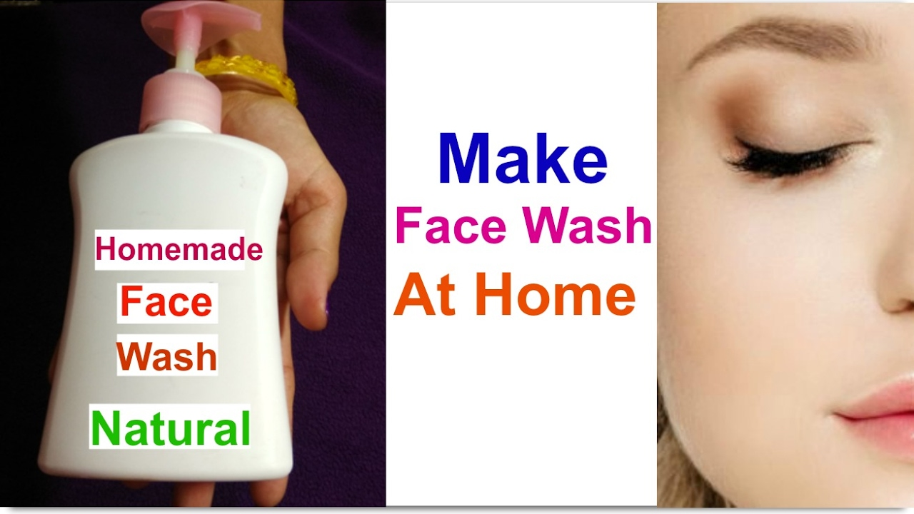 natural to how facial wash make