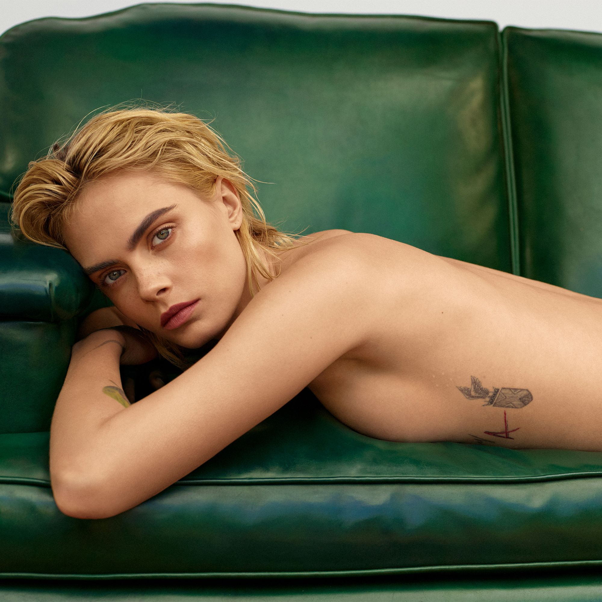 cara nude from posed mtv